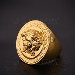 Other - Heavy Medusa Gold Filled Ring